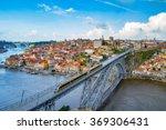 porto  portugal at dom luis... | Shutterstock . vector #369306431