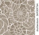 vector seamless ornate pattern... | Shutterstock .eps vector #369309764