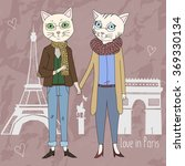 Love In Paris. Cats Love. Cats...