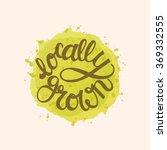 modern hand lettering. ... | Shutterstock .eps vector #369332555