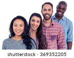 portrait of smiling multi...   Shutterstock . vector #369352205