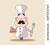 chef theme elements vector eps | Shutterstock .eps vector #369353765
