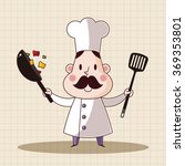 chef theme elements vector eps | Shutterstock .eps vector #369353801