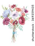 flowers bouquet of wildflowers | Shutterstock . vector #369359435