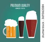 beer icon design  | Shutterstock .eps vector #369362084