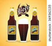 beer icon design  | Shutterstock .eps vector #369362135