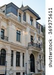 Small photo of BUCHAREST, ROMANIA - 26 JANUARY, 2016: The French Baroque building on Nicolae Iorga street, once home to the Ghica family, now houses the secretariat of CODCR, Council of Danube Cities and Regions.
