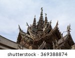 the wood sanctuary of truth in... | Shutterstock . vector #369388874
