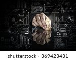 business leadership strategy | Shutterstock . vector #369423431