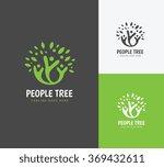 people tree logo people logo...   Shutterstock .eps vector #369432611