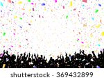 a crowd of people. vector... | Shutterstock .eps vector #369432899