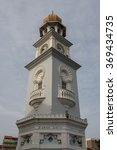 Clock Tower In The Old Town Of...