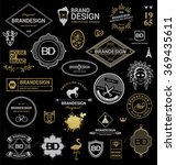 brand design elements... | Shutterstock .eps vector #369435611