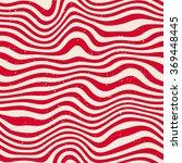 vector seamless red white wavy... | Shutterstock .eps vector #369448445