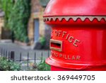 Old Fashioned Red Post Office...