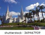 Beautiful Mormon Temple In San...
