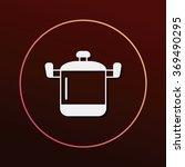 pot icon | Shutterstock .eps vector #369490295