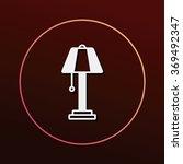 lamp icon | Shutterstock .eps vector #369492347