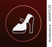 shoes icon | Shutterstock .eps vector #369497135