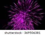 fireworks on a black background ... | Shutterstock . vector #369506381