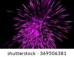 fireworks on a black background ...   Shutterstock . vector #369506381