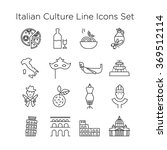 italian culture icons  culture...   Shutterstock .eps vector #369512114