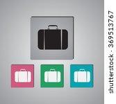 travel bag icon   Shutterstock .eps vector #369513767