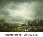 Rural Landscape  Painted With...