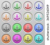 set of anchor plastic sunk...