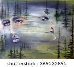 Couple. An Oil Painting...
