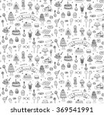 seamless background hand drawn... | Shutterstock .eps vector #369541991