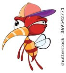 cartoon illustration of a red... | Shutterstock . vector #369542771