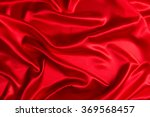 Stock photo sensuous smooth red satin 369568457