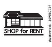 Shop For Rent Icon Illustratio...