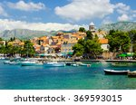 view on old town cavtat in...   Shutterstock . vector #369593015