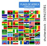 flags of africa complete set.... | Shutterstock .eps vector #369615581