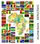 all african flags complete set...