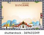 vector border travel around...   Shutterstock .eps vector #369631049
