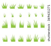 tufts of grass. | Shutterstock .eps vector #369631271