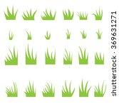 tufts of grass.   Shutterstock .eps vector #369631271