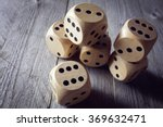 rolling the dice concept for... | Shutterstock . vector #369632471