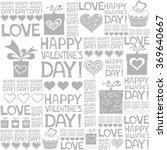 happy valentine's day.... | Shutterstock .eps vector #369640667