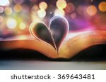 an open bible with the pages... | Shutterstock . vector #369643481