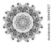 vector beautiful deco... | Shutterstock .eps vector #369645317
