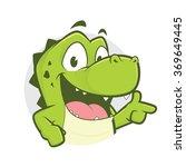 Crocodile Or Alligator With Gu...