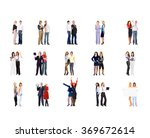 business picture team over... | Shutterstock . vector #369672614