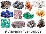 Various Mineral Rocks And...