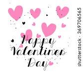 hand drawn doodle happy... | Shutterstock .eps vector #369706565