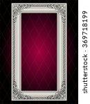 vector vintage border frame... | Shutterstock .eps vector #369718199