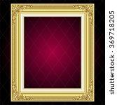 vector vintage border frame... | Shutterstock .eps vector #369718205